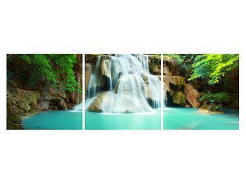 Obraz řeky s vodopády (K011969K15050)