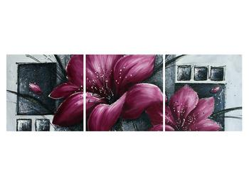Tablou modern cu flori (K012355K15050)
