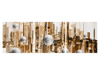 Abstraktní obraz - město (K014743K15050)