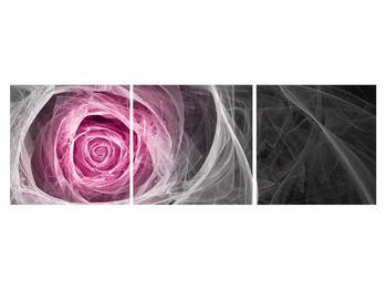 Abstraktní obraz růže (K014952K15050)