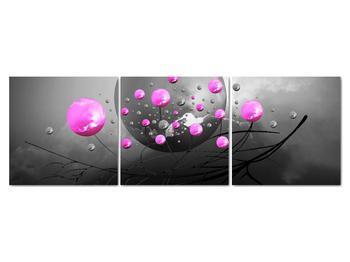 Obraz ružových gulí (V020105V15050)