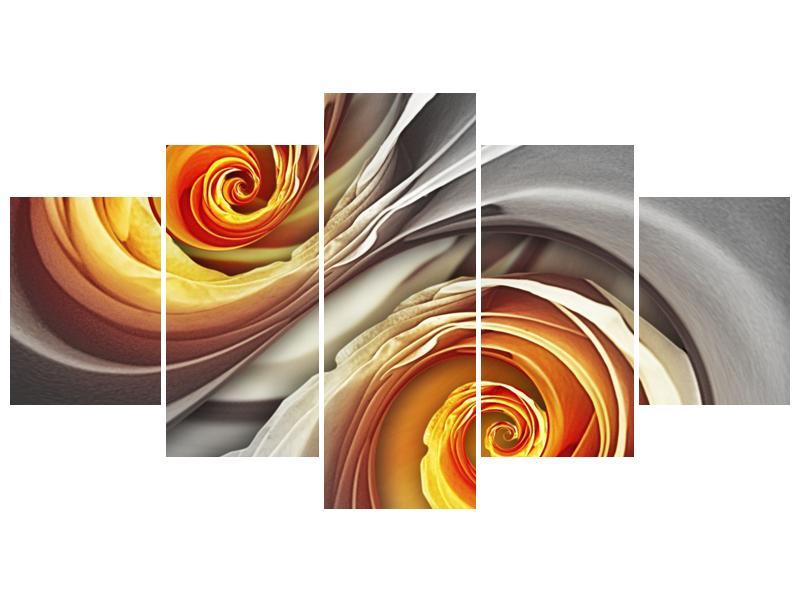 Abstraktní obraz - spirál (F001693F150805PCS)