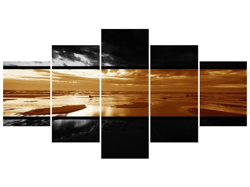 Dvroubarevný obraz moře (F001957F150805PCS)
