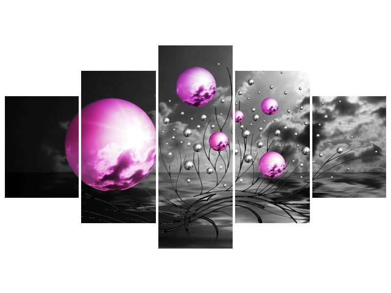 Moderní obraz - slunce v kouli (F002085F150805PCS)