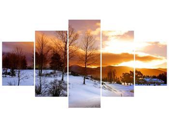 Obraz zimní krajiny (F000031F150805PCS)