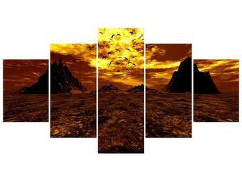 Obraz vyprahlého údolí (F000287F150805PCS)