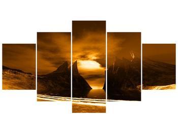 Obraz skály a pláže (F000300F150805PCS)