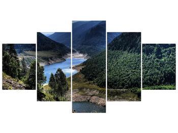 Obraz řeky a hor (F000615F150805PCS)