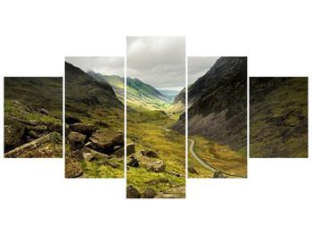 Obraz cesty uprostřed hor (F000621F150805PCS)