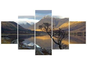 Obraz hor u jezera (F000686F150805PCS)