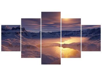 Krásný obraz zimní krajiny (F000939F150805PCS)