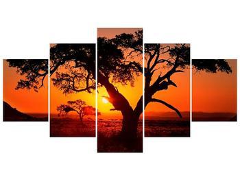 Obraz ohnivého západu slunce (F001288F150805PCS)