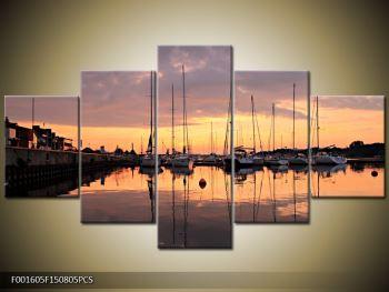 Obraz přístavu (F001605F150805PCS)