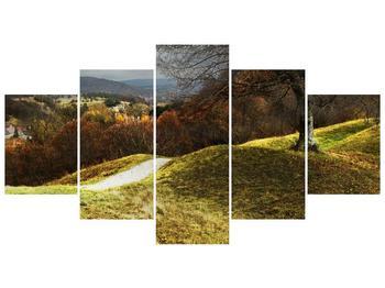Obraz podzimního pahorku (F001650F150805PCS)