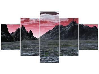 Obraz skalnaté přírody (F001712F150805PCS)