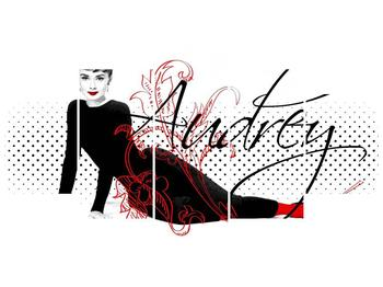 Obraz - Audrey Hepburn (F002154F150805PCS)