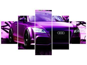 Obraz fialové Audi (F002349F150805PCS)