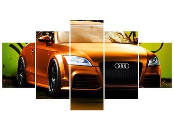 Obraz oranžové Audi (F002351F150805PCS)
