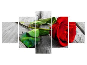 Obraz červené růže (K011140K150805PCS)