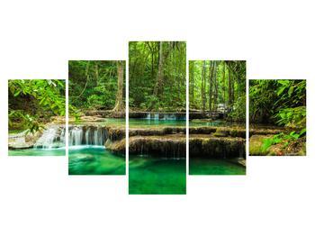 Obraz průzračného lesního toku (K011187K150805PCS)