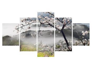 Virágzó tavaszi tájkép (K011207K150805PCS)
