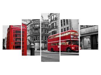 Obraz londýnské telefonní budky (K011222K150805PCS)