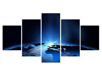 Obraz mapy světa (K011269K150805PCS)