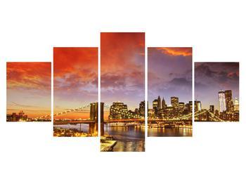 Tablou cu podul Brooklyn (K011278K150805PCS)