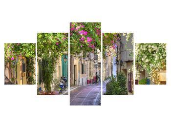 Mediterrán nyári utcácska képe (K011282K150805PCS)