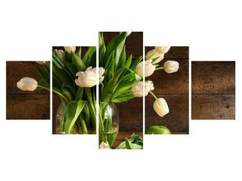 Tablou cu lalele în vază (K011364K150805PCS)