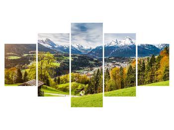 Tablou cu peisaj montan (K011867K150805PCS)