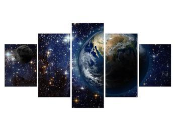 Vesmírný obraz planet (K012177K150805PCS)