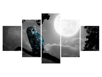 Tablou cu bufnița nocturnă (K012185K150805PCS)