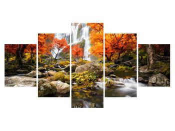 Tablou cu peisaj de toamnă (K012335K150805PCS)