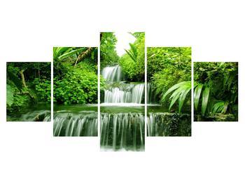 Obraz indonéských vodopádů (K012353K150805PCS)