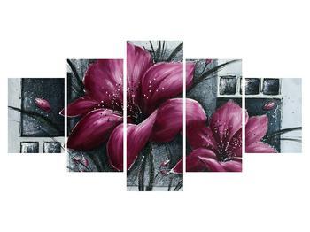 Tablou modern cu flori (K012355K150805PCS)