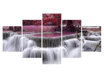 Obraz podzimních vodopádů (K012486K150805PCS)