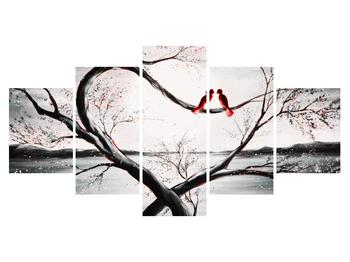Zamilovaný obraz vtákov (K012527K150805PCS)