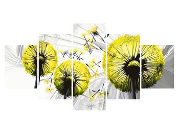 Tablou galben cu păpădii (K014028K150805PCS)