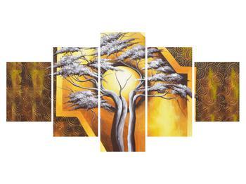 Orientální obraz stromu a slunce (K014067K150805PCS)