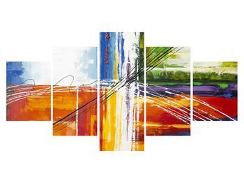Abstraktní obraz - malba (K014706K150805PCS)