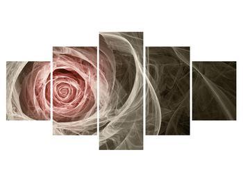 Abstraktný obraz ruže (K014988K150805PCS)