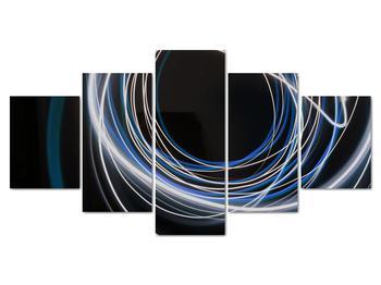 Obraz modrých liniek (V020053V150805PCS)
