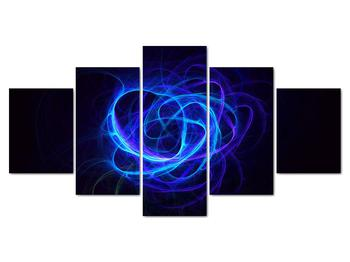 Obraz modrého abstraktného klbka (V020135V150805PCS)