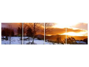 Obraz zimní krajiny (F000031F16040)