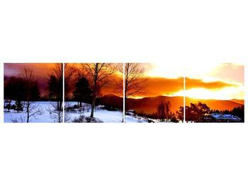 Obraz zimní krajiny (F000192F16040)