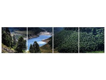 Obraz řeky a hor (F000615F16040)