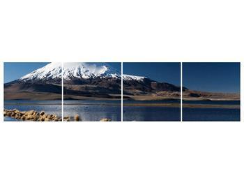 Obraz zasněžené hory (F000974F16040)