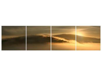 Obraz hor v mlze (F001451F16040)