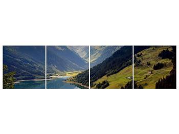 Obraz horského údolí (F001494F16040)